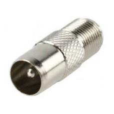 RF na F konektor muški metalni