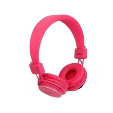 Slušalice MRH-8809 microSD/FM pink