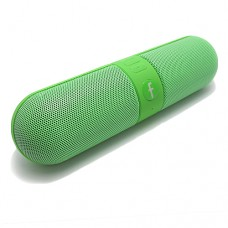 Bluetooth zvučnik zeleni PILL