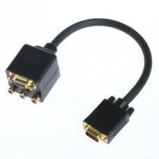 VGA Muški na VGA Ženski + 3RCA HDA-700