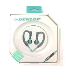 Dunlop slušalice sport + mik zelene