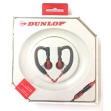 Dunlop slušalice sport + mik crvene