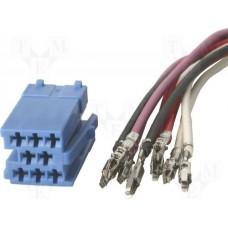 Auto konektor ISO ZRS-ISO-3/N