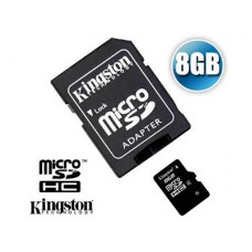 Kingston mikro SD kart. 8GB CL4