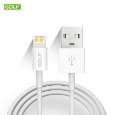 USB data kabl za iphone 1m GOLF GC-30 beli