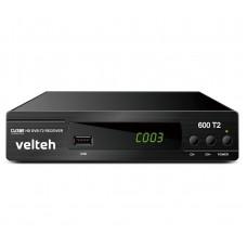 DVB-T2 Digitalni risiver Velteh 600T2 + RF