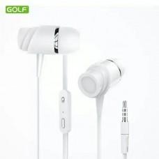 Slušalice za mobilni GOLF GOLF M4 bele