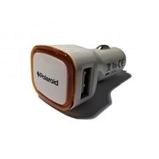 Auto punjač Polaroid 2USB 2.1A nar.